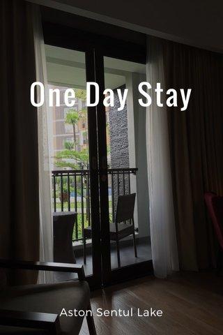 One Day Stay Aston Sentul Lake
