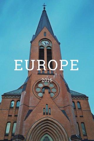 EUROPE 2016
