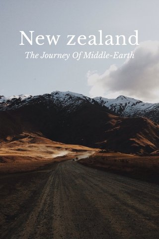 New zealand The Journey Of Middle-Earth