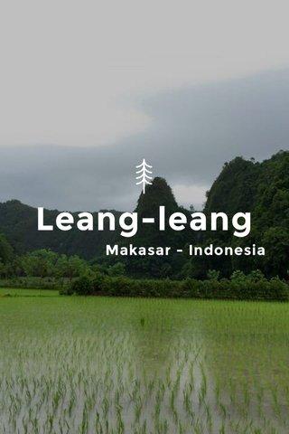 Leang-leang Makasar - Indonesia
