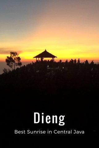 Dieng Best Sunrise in Central Java