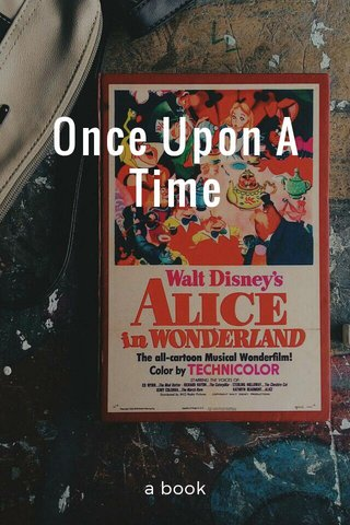 Once Upon A Time a book