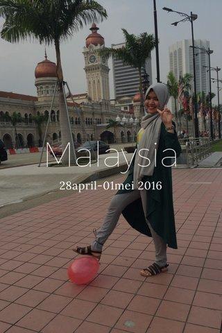 Malaysia 28april-01mei 2016