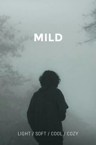 MILD LIGHT / SOFT / COOL / COZY