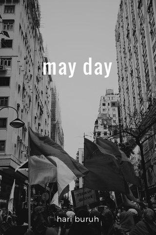 may day hari buruh