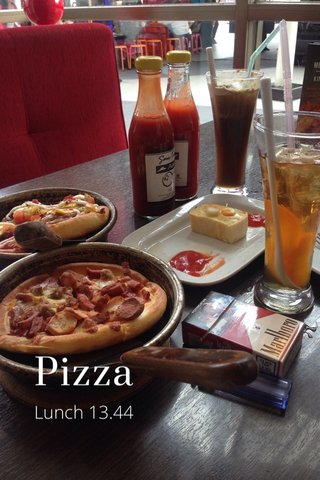 Pizza Lunch 13.44