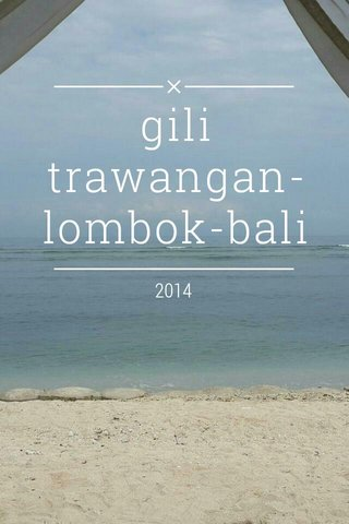gili trawangan-lombok-bali 2014