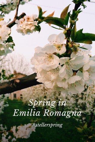 Spring in Emilia Romagna #stellerspring