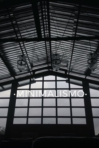 •MINIMALISMO•