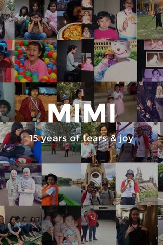 MIMI 15 years of tears & joy