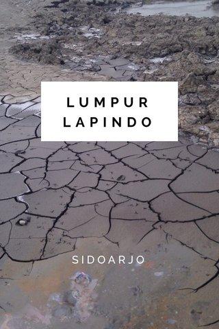 LUMPUR LAPINDO SIDOARJO
