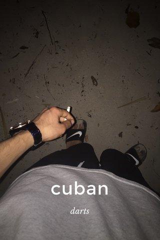 cuban darts