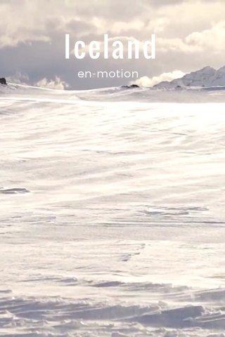 Iceland en-motion
