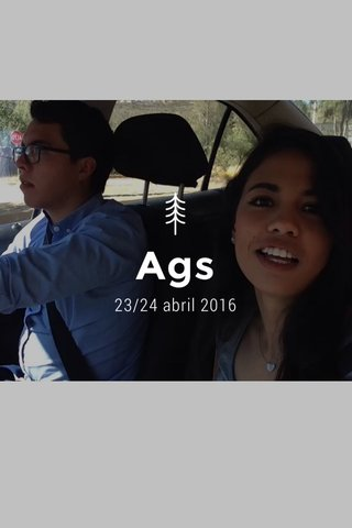 Ags 23/24 abril 2016