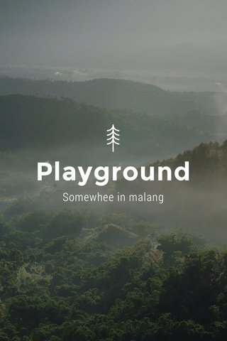 Playground Somewhee in malang