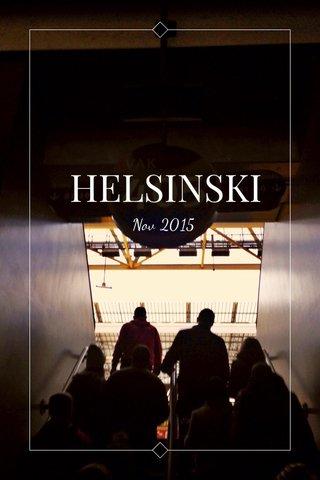 HELSINSKI Nov 2015