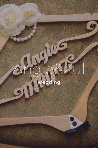 Angie&Zul wedding