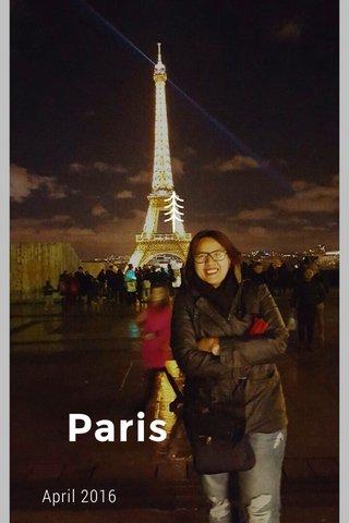 Paris April 2016