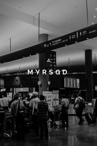 MYRSGD