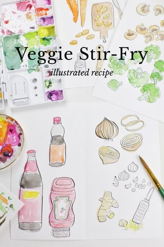 Veggie Stir-Fry illustrated recipe