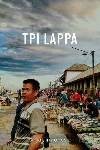TPI LAPPA sinjai, indonesia