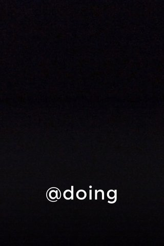 @doing