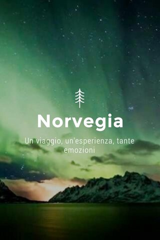 Norvegia Un viaggio, un'esperienza, tante emozioni