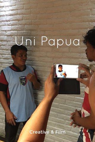 Uni Papua Creative & Film