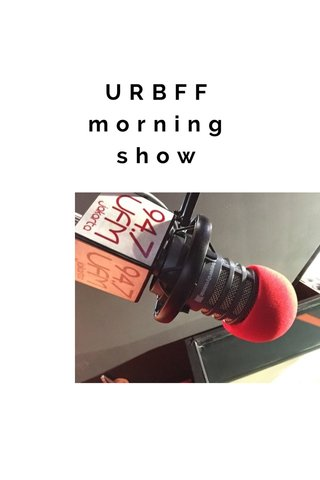 URBFF morning show
