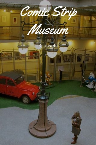 Comic Strip Museum Brussels