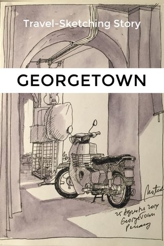 GEORGETOWN Travel-Sketching Story