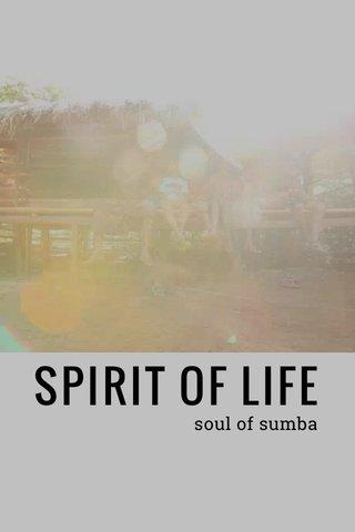 SPIRIT OF LIFE soul of sumba
