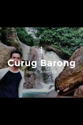 Curug Barong Sentul, Indonesia