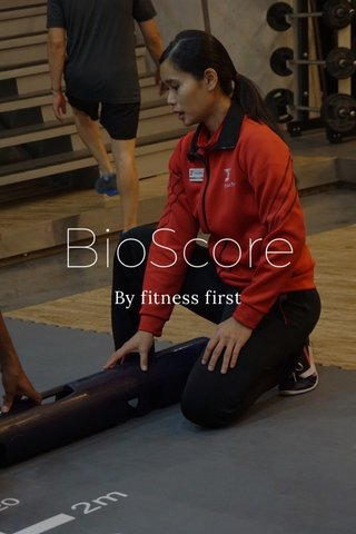 BioScore By fitness first