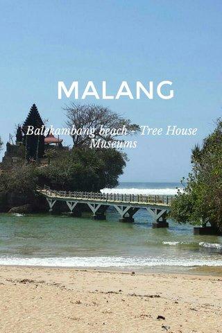 MALANG Balekambang beach - Tree House Museums