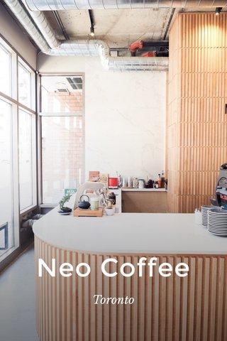 Neo Coffee Toronto