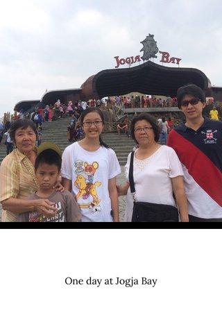 One day at Jogja Bay
