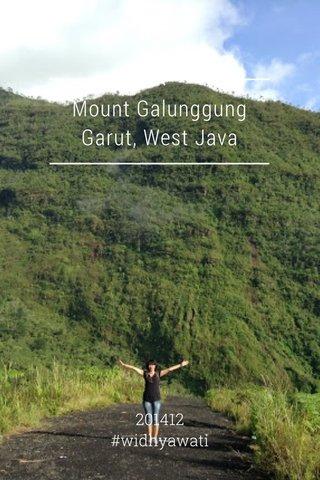 Mount Galunggung Garut, West Java 201412 #widhyawati