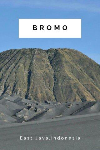 BROMO East Java,Indonesia