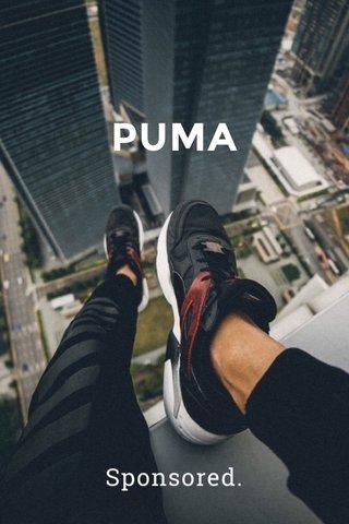 PUMA Sponsored.