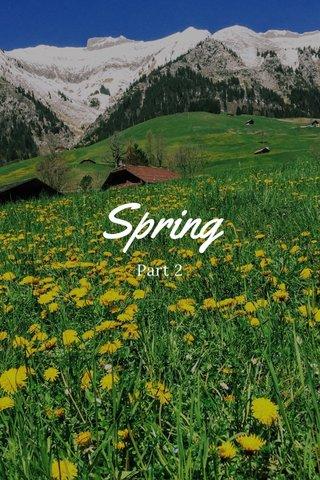 Spring Part 2