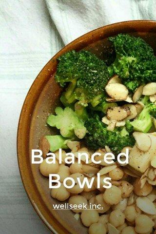 Balanced Bowls wellseek inc.
