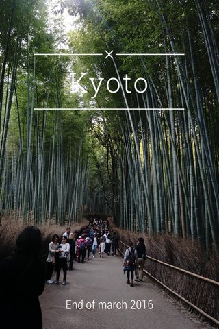 Kyoto End of march 2016
