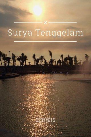 Surya Tenggelam 07052015