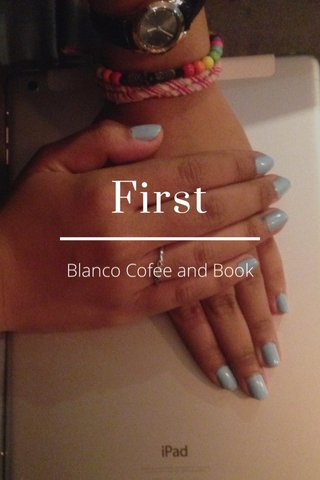 First Blanco Cofee and Book