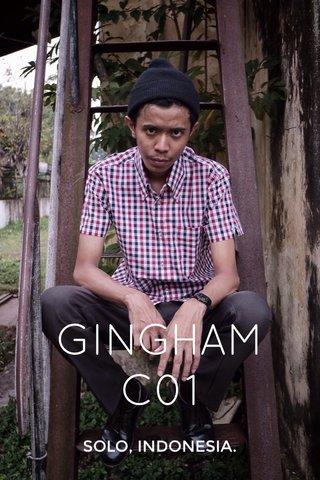 GINGHAM C01 SOLO, INDONESIA.
