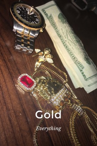 Gold Everything