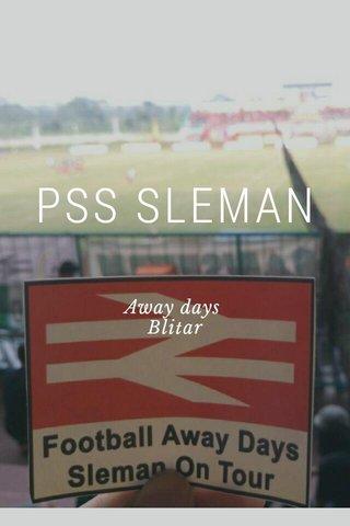 PSS SLEMAN Away days Blitar