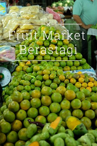Fruit Market Berastagi ♢