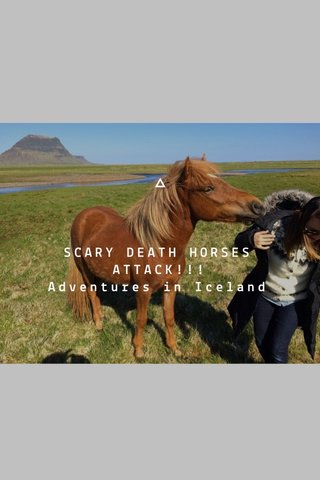 SCARY DEATH HORSES ATTACK!!! Adventures in Iceland